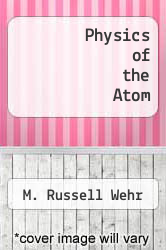 Cover of Physics of the Atom 3 (ISBN 978-0201085877)