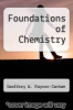 cover of Foundations of Chemistry
