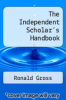 cover of The Independent Scholar`s Handbook