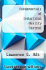 cover of Fundamentals of Industrial Quality Control