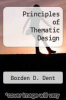 cover of Principles of Thematic Design