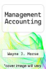cover of Management Accounting (2nd edition)