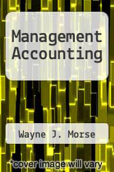 Cover of Management Accounting EDITIONDESC (ISBN 978-0201158700)