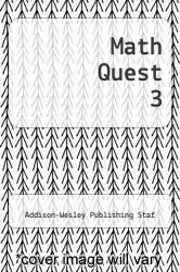 Cover of Math Quest 3 EDITIONDESC (ISBN 978-0201193008)