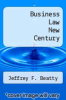 cover of Business Law New Century (1st edition)