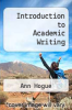 cover of Introduction to Academic Writing (2nd edition)