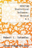 cover of MINITAB Statistical Software: Version 6.1 (1st edition)