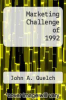 cover of Marketing Challenge of 1992