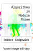 cover of Algorithms in Modula Three