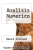 cover of Analisis Numerico