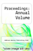 cover of Proceedings: Annual Volume (11th edition)