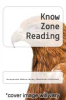 cover of Know Zone Reading