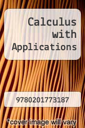 Calculus with Applications by N and A - ISBN 9780201773187