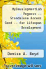 cover of MyDevelopmentLab Pegasus -- Standalone Access Card -- for Lifespan Development (1st edition)