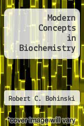Cover of Modern Concepts in Biochemistry 3 (ISBN 978-0205066100)