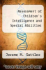 cover of Assessment of Children`s Intelligence and Special Abilities (2nd edition)