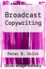 cover of Broadcast Copywriting (2nd edition)