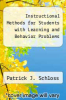cover of Instructional Methods for Students with Learning and Behavior Problems