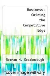 Cover of Business: Gaining the Competitive Edge EDITIONDESC (ISBN 978-0205126248)