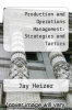 cover of Production and Operations Management : Strategies and Tactics (2nd edition)