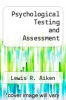 cover of Psychological Testing and Assessment (7th edition)