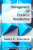 cover of Management of Chronic Headaches