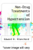 cover of Non-Drug Treatments of Hypertension