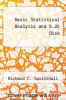 cover of Basic Statistical Analysis and 5.25 Disk (4th edition)