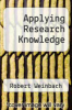 cover of Applying Research Knowledge