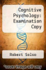 cover of Cognitive Psychology: Examination Copy (4th edition)