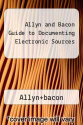 Cover of Allyn and Bacon Guide to Documenting Electronic Sources 95 (ISBN 978-0205195787)