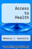 cover of Access to Health (5th edition)