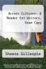 cover of Across Cultures: A Reader for Writers, Exam Copy (4th edition)
