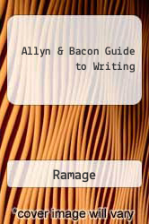 Cover of Allyn & Bacon Guide to Writing 2 (ISBN 978-0205316687)