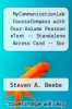 cover of MyCommunicationLab CourseCompass with Four-Volume Pearson eText -- Standalone Access Card -- for Communication (1st edition)