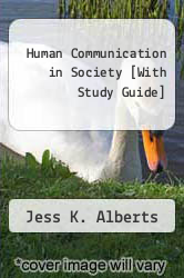Cover of Human Communication in Society [With Study Guide]  (ISBN 978-0205668410)
