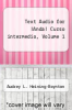 cover of Text Audio for !Anda! Curso intermedio, Volume 1 (1st edition)