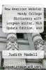 cover of New American Webster Handy College Dictionary with Longman Writer, MLA Update Edition, and MyCompLab (12-month access) (7th edition)