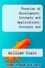 cover of Theories of Development: Concepts and Applications (6th edition)