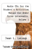 cover of Audio CDs for the Student`s Activities Manual for Anda! Curso intermedio, Volume 1 (2nd edition)