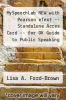 cover of MySpeechLab NEW with Pearson eText -- Standalone Acces Card -- for DK Guide to Public Speaking (1st edition)