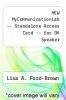 cover of NEW MyCommunicationLab -- Standalone Access Card -- for DK Speaker (1st edition)