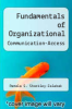 cover of Fundamentals of Organizational Communication-Access