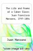 cover of The Life and Poems of a Cuban Slave: Juan Francisco Manzano, 1797-1854