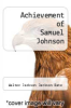 cover of Achievement of Samuel Johnson