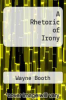 cover of A Rhetoric of Irony