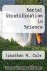 cover of Social Stratification in Science