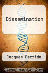 Cover of Dissemination EDITIONDESC (ISBN 978-0226143279)