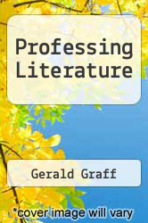 Cover of Professing Literature 96 (ISBN 978-0226306032)