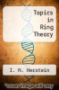 cover of Topics in Ring Theory